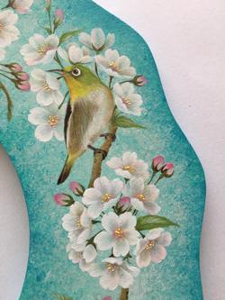 桜とメジロのリース 右.jpg
